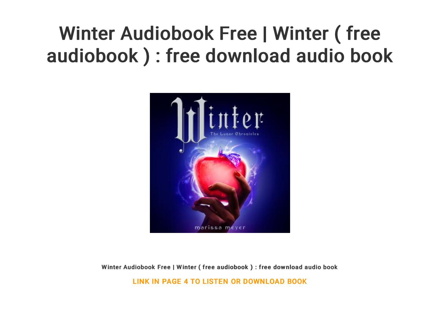 scarlet lunar chronicles audiobook free
