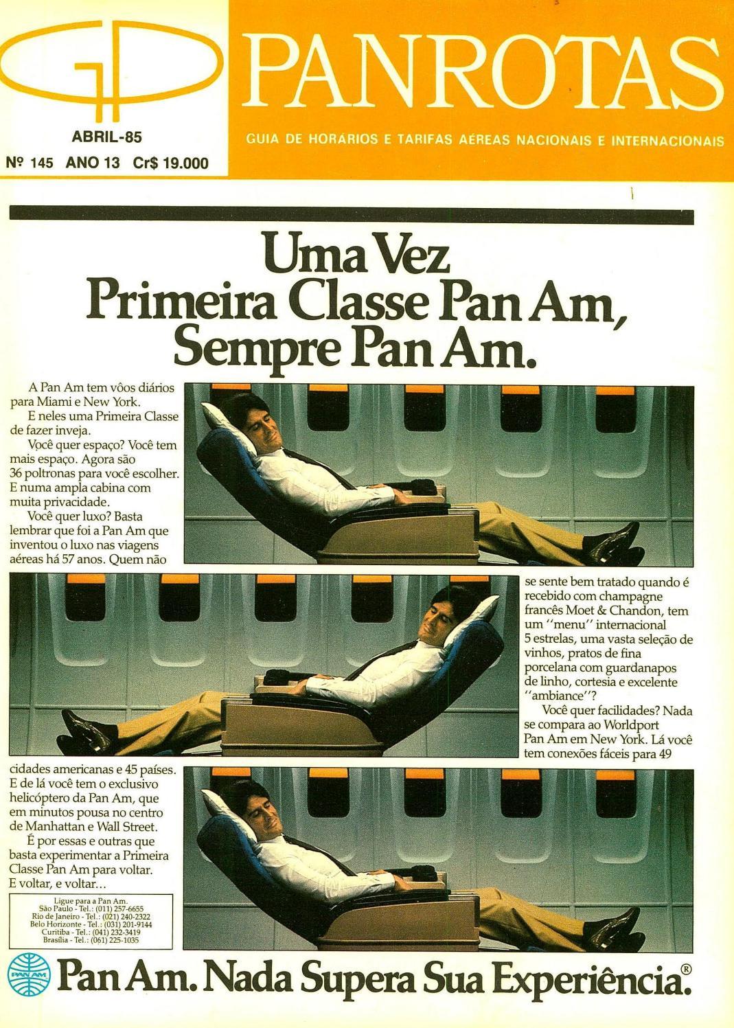 a322ee393 Guia PANROTAS - Edição 145 - Abril 1985 by PANROTAS Editora - issuu