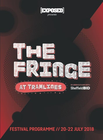 ce6c68e8f The Fringe at Tramlines 2018 - Official Programme by Exposed ...