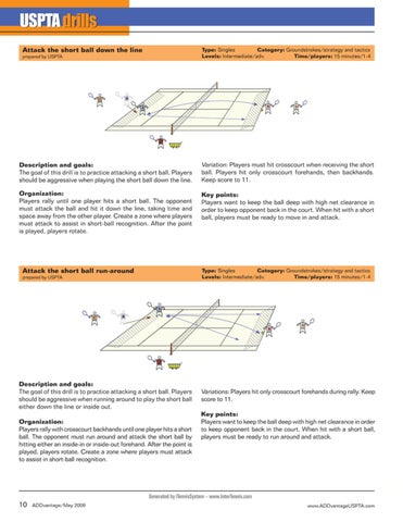 Page 12 of USPTA Drills