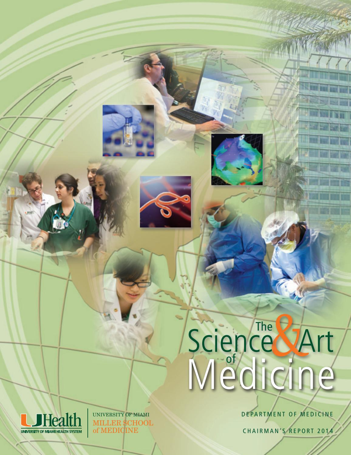 Department of Medicine Annual Report 2014 by University of