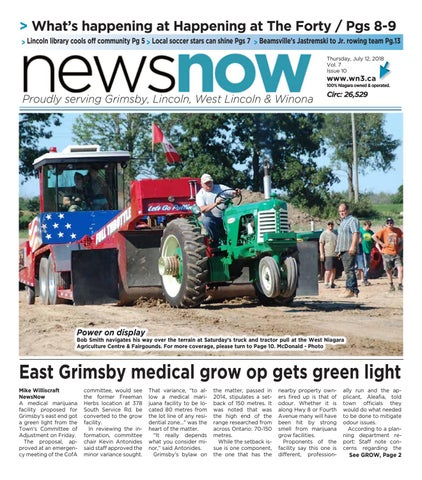 What's happening at Happening at The Forty / Pgs 8-9 > Lincoln library cools off community Pg 5 > Local soccer stars can shine Pgs 7 > Beamsville's ...