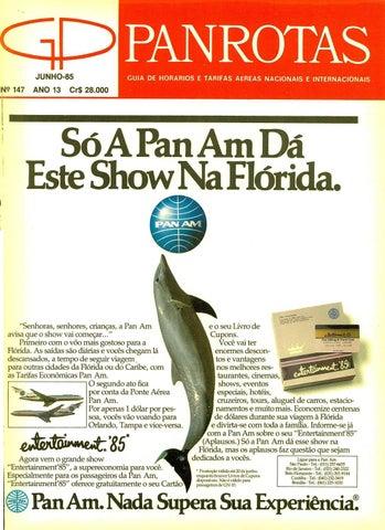 05fa28c83e47 Guia PANROTAS - Edição 147 - Junho 1985 by PANROTAS Editora - issuu