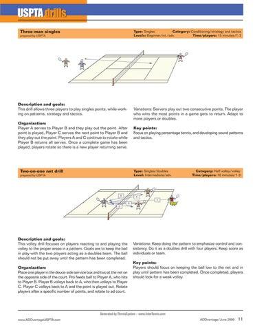 Page 13 of USPTA Drills