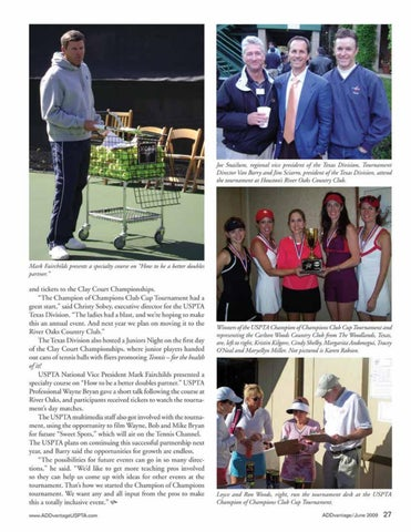 Page 29 of USPTA expands partnership with ATP tournament