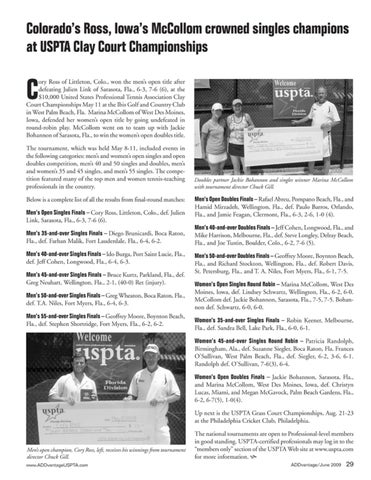Page 31 of Colorado's Ross, Iowa's McCollom crowned singles