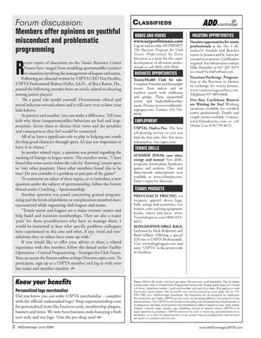 Page 4 of Forum discussion: Members offer opinions on youthful misconduct and problematic programming