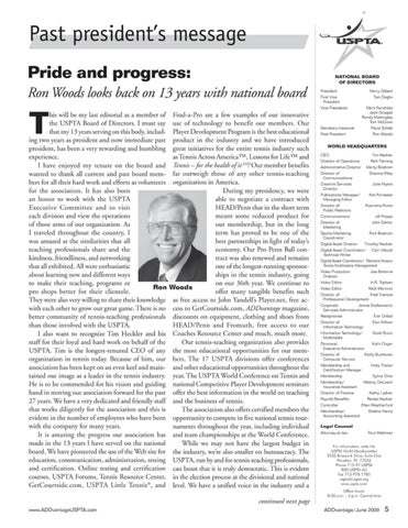 Page 7 of Price and progress: Ron Woods looks back on 13 years with national board