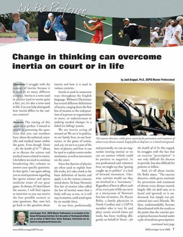 Page 9 of Change in thinking can overcome inertia on court or in life