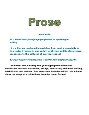 Page 31 of Prose
