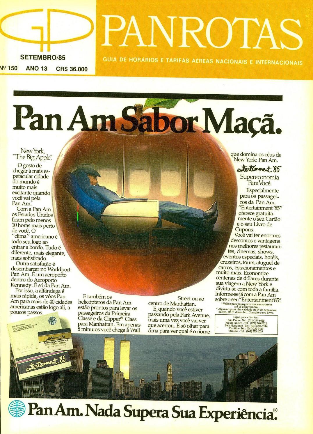 Guia PANROTAS - Edição 150 - Setembro 1985 by PANROTAS Editora - issuu 986186a32d