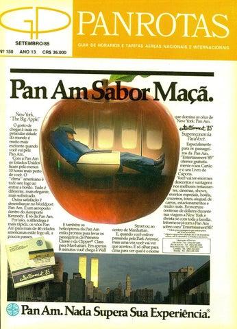 fae2596f65245 Guia PANROTAS - Edição 150 - Setembro 1985 by PANROTAS Editora - issuu