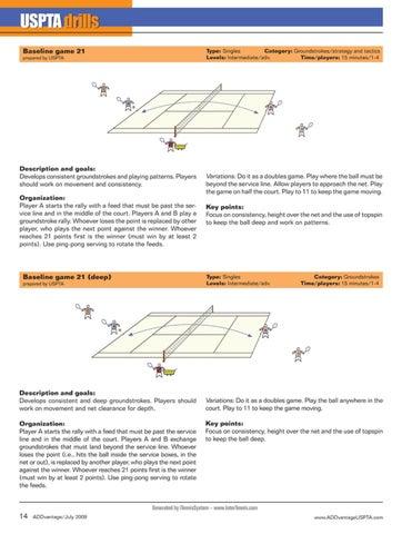 Page 16 of USPTA Drills