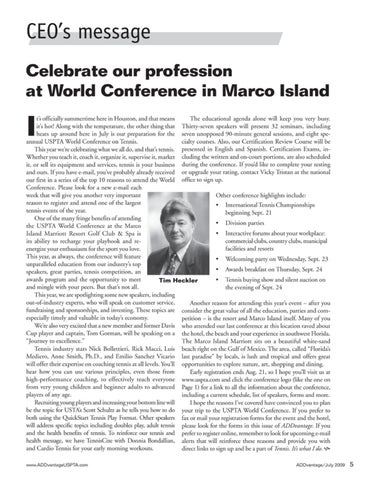 Page 7 of Celebrate our profession at World Conference in Marco Island