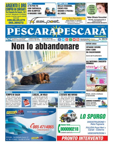 7e6867a5d066 PescaraPescara n.20 del 12-07-2018 by PescaraPescara - issuu