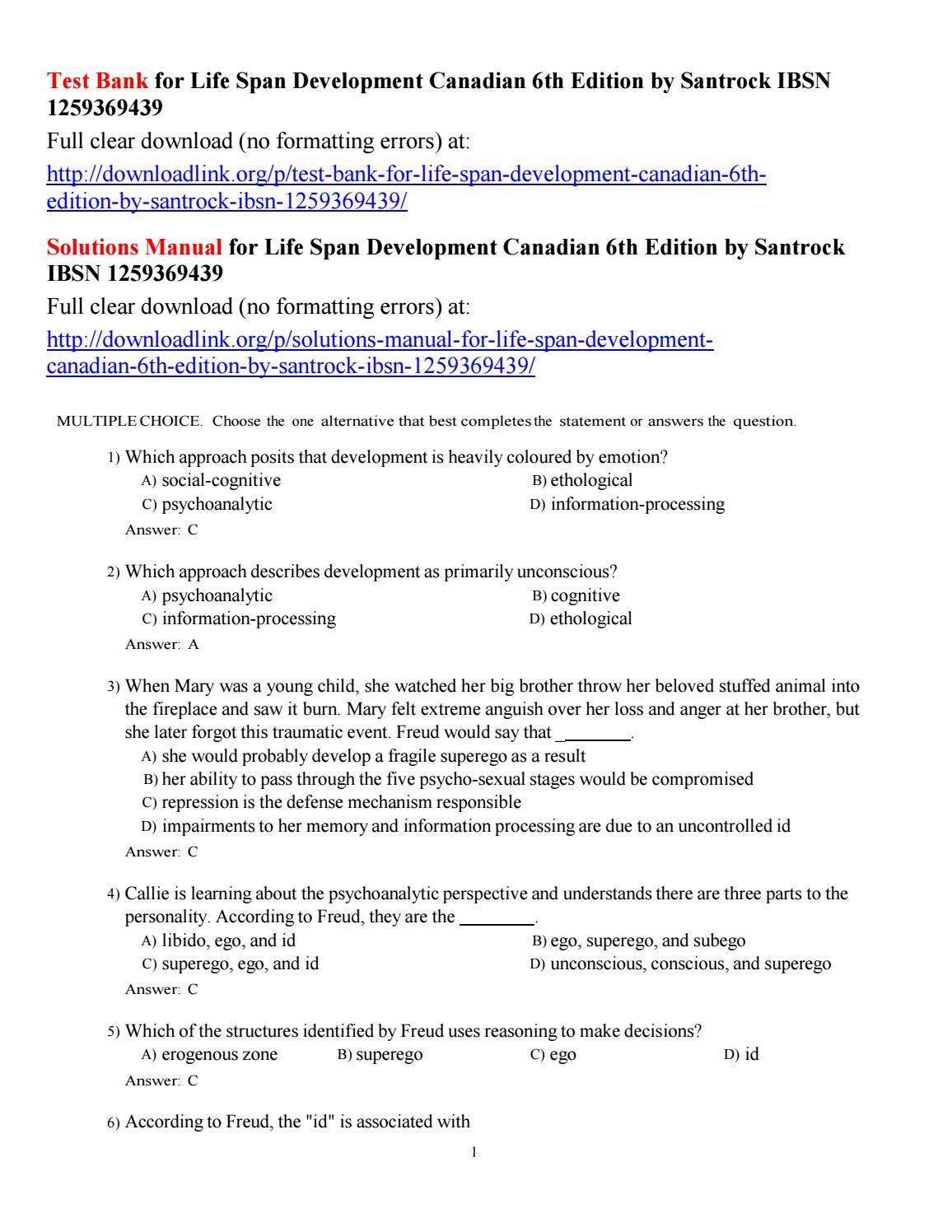 ... manual rh arabdev org Array - test bank for life span development  canadian 6th edition by santrock rh issuu com