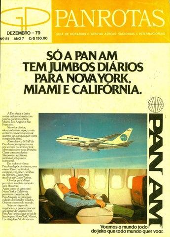 a156fadf4 Guia PANROTAS - Edição 81 - Dezembro 1979 by PANROTAS Editora - issuu