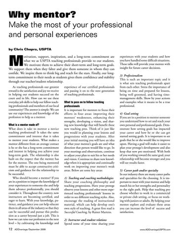 Page 12 of Why mentor? Make the most of your professional and personal experiences