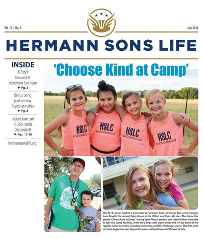 La Nina Has Been Kinder To Madison This >> July 2018 By Hermann Sons Life Issuu