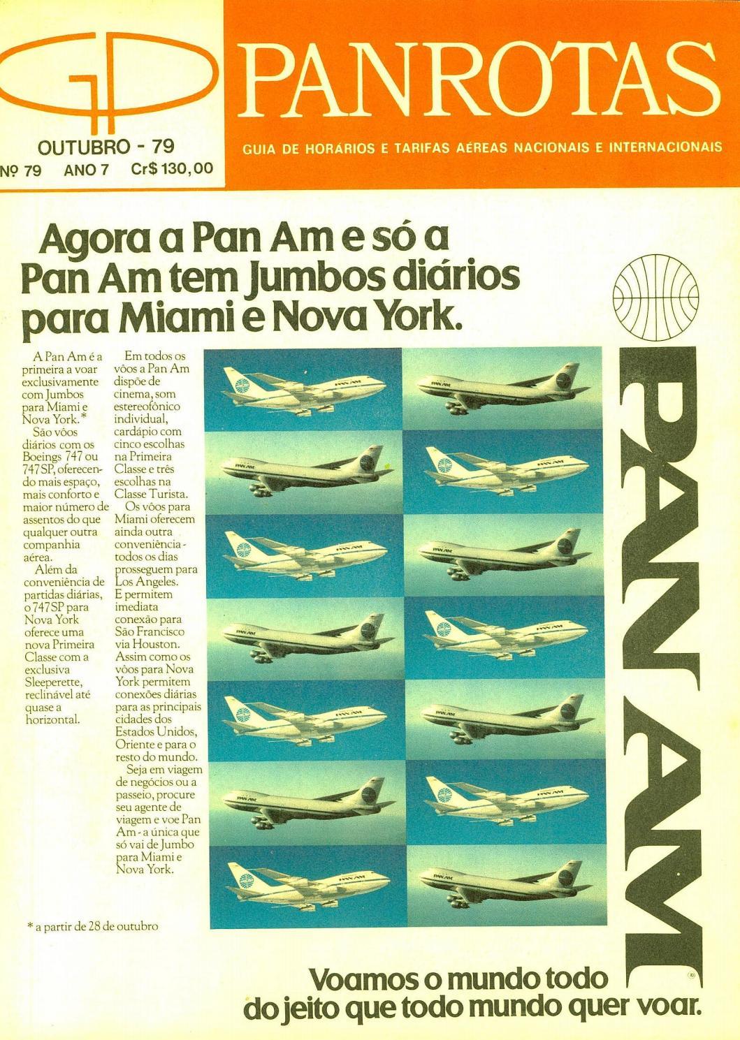 3038b9783 Guia PANROTAS - Edição 79 - Outubro 1979 by PANROTAS Editora - issuu