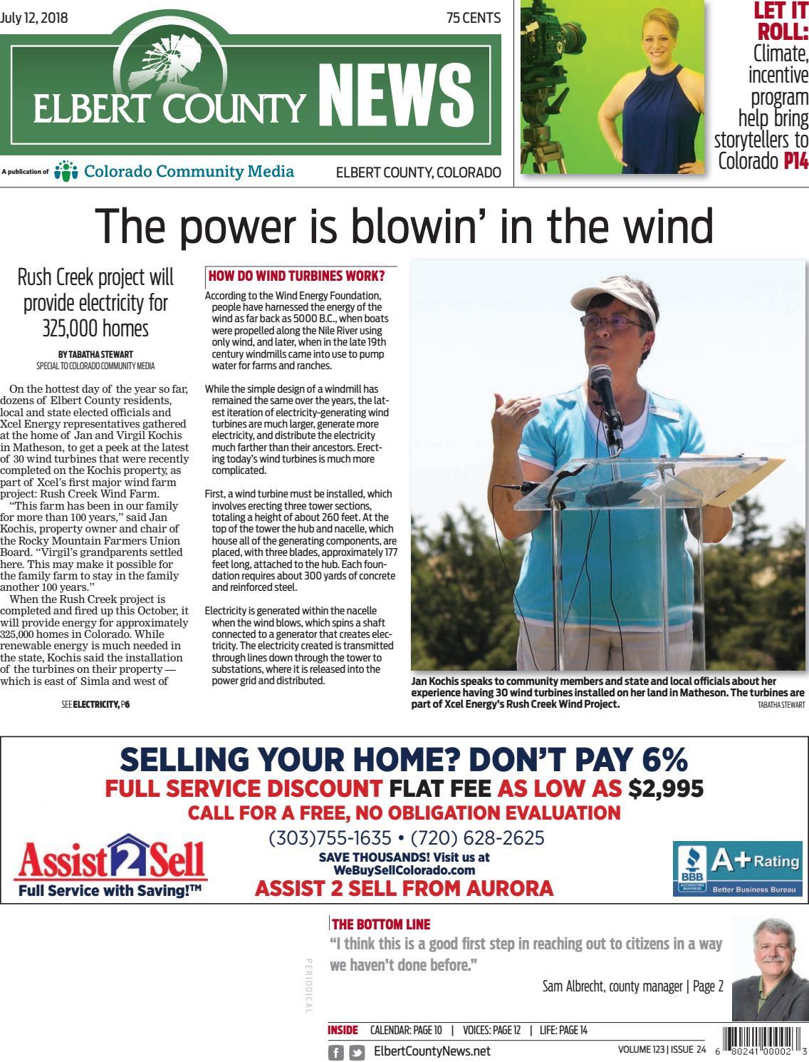 Elbert County News 0712 by Colorado Community Media - issuu
