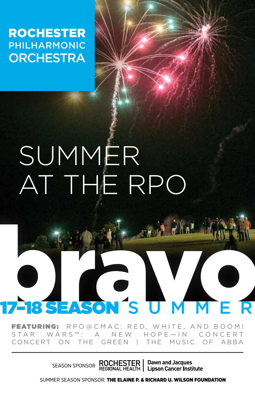 17 18 season bravo 10 (summer) by rochester philharmonic orchestra17 18 season bravo 10 (summer) by rochester philharmonic orchestra issuu
