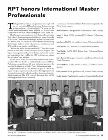 Page 41 of RPT honors International Master Professionals