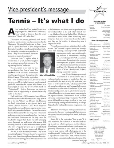 Page 7 of Tennis - It's what I do