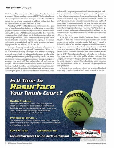 Page 8 of Tennis ripe with research possibilities for scientists