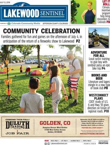 Lakewood Sentinel 0712 By Colorado Community Media Issuu