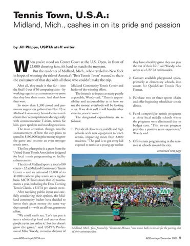 Page 11 of Tennis Town, U.S.A.: Midland, Mich., cashes in on its pride and passion