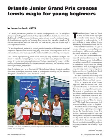 Page 15 of Orlando Junior Grand Prix creates tennis magic for young beginners