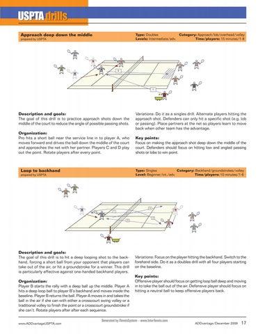 Page 19 of USPTA Drills