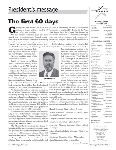 Page 5 of The first 60 days