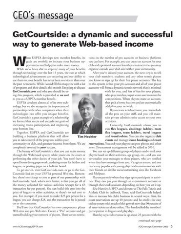 Page 7 of GetCourtside: a dynamic and successful way to generate Web-based income