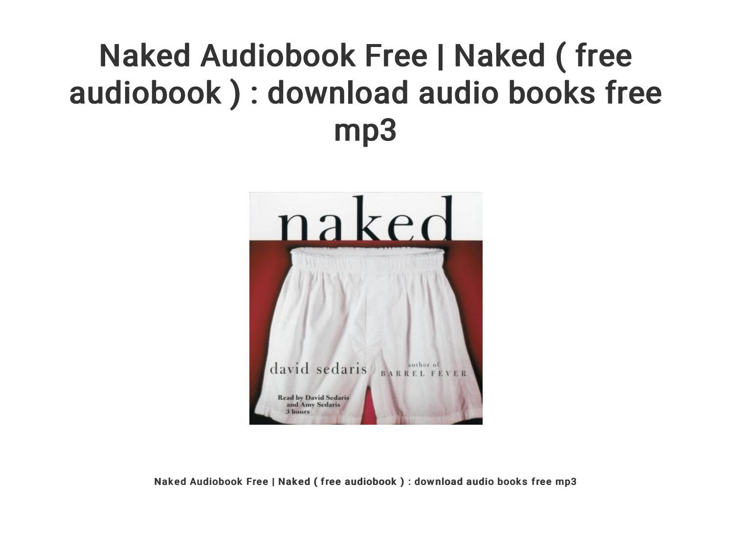 Amy Sedaris Naked naked audiobook free | naked ( free audiobook ) : download