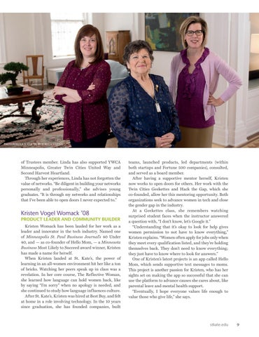 Page 11 of 2018 Alumnae Award Winners