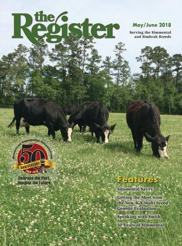 the Register May / June 2018 by American Simmental
