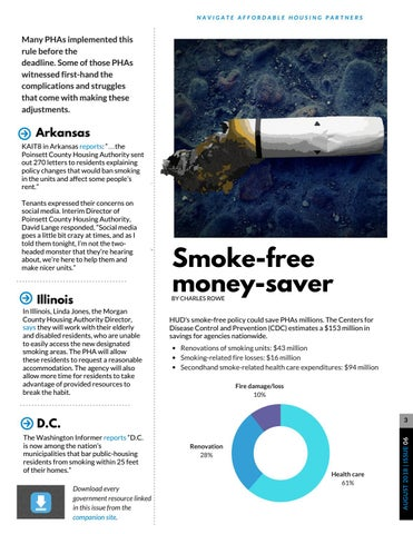 Page 3 of Going Smoke-Free in Public Housing