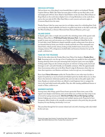 getaway reno tahoe summer 2018 by getaway reno tahoe issuu