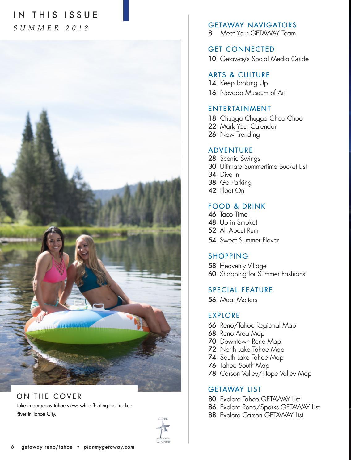 Getaway Reno/Tahoe Summer 2018 by Getaway Reno/Tahoe - issuu