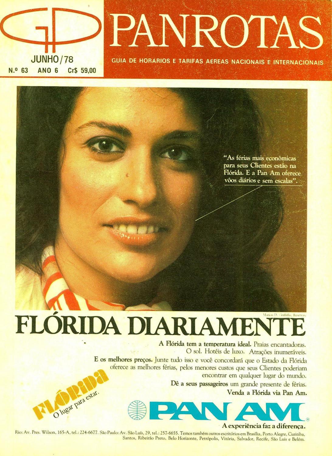 Guia PANROTAS - Edição 63 - Junho 1978 by PANROTAS Editora - issuu d8dff517bdd