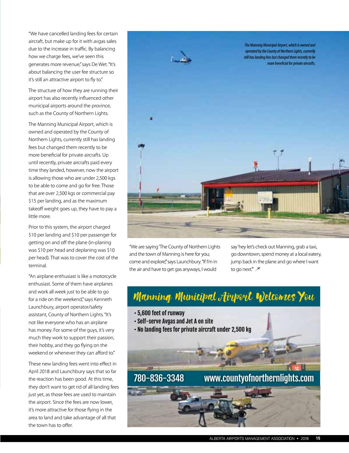 The Airport Operators by DEL Communications Inc  - issuu