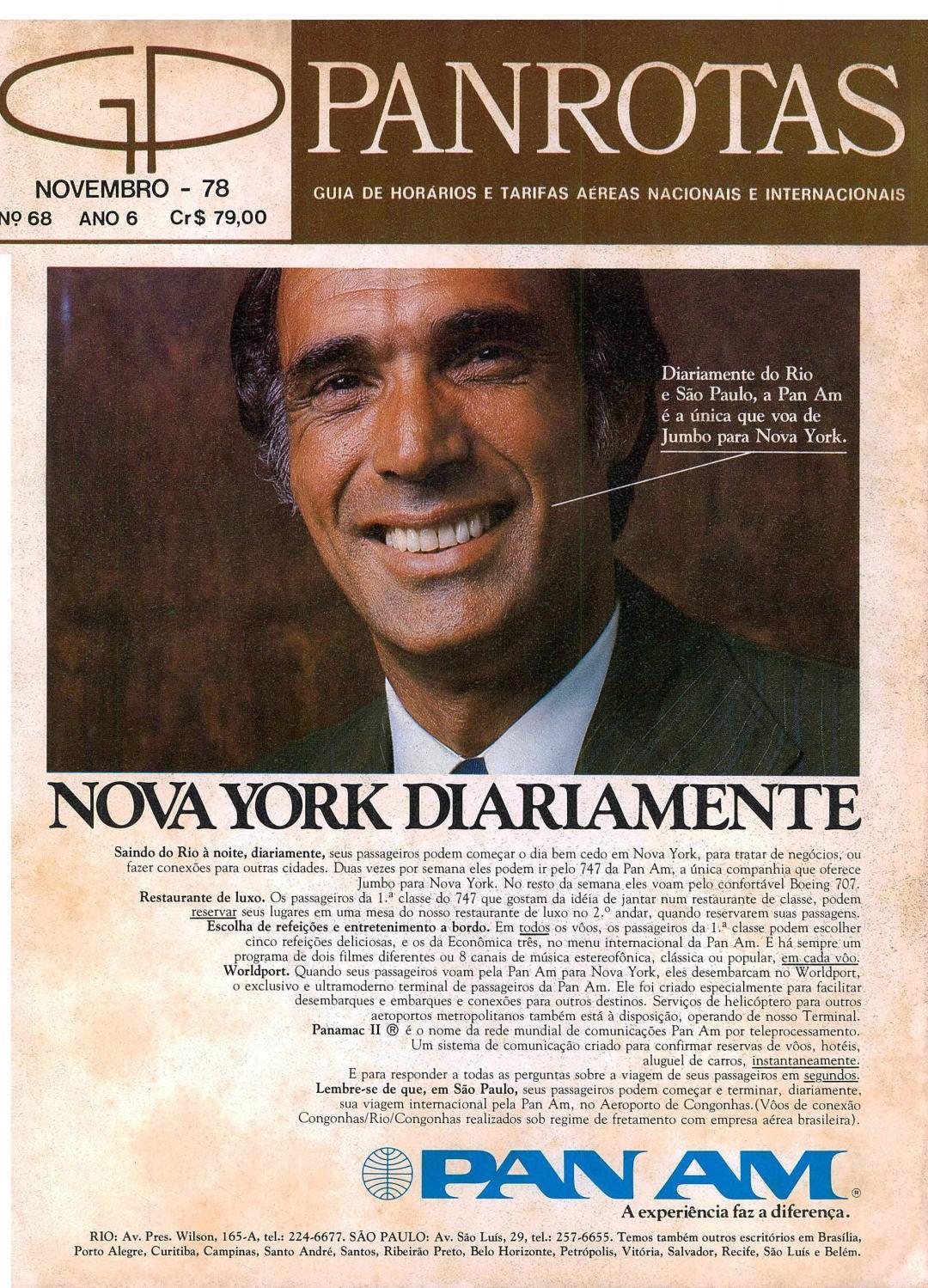 Guia PANROTAS - Edição 68 - Novembro/1978 by PANROTAS