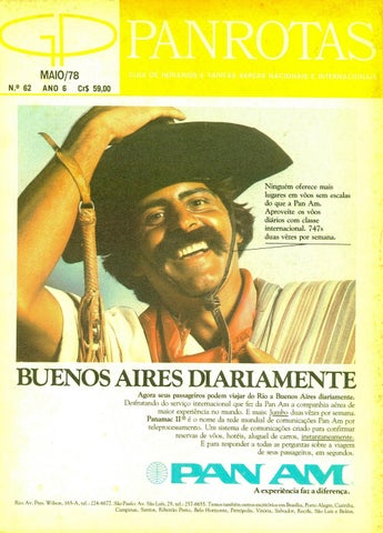 9ffdc5c36c Guia PANROTAS - Edição 62 - Maio 1978 by PANROTAS Editora - issuu