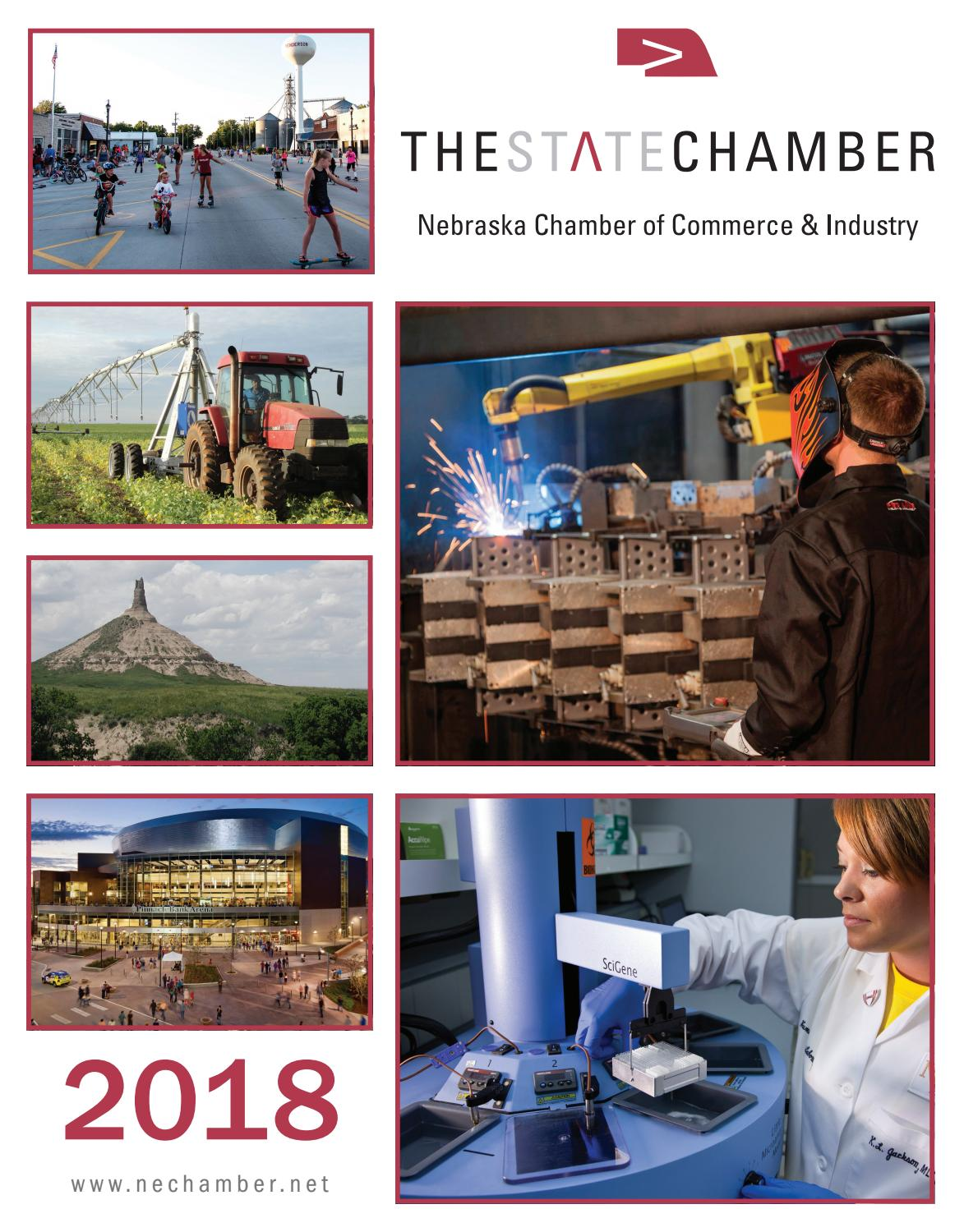 Nebraska IL Chamber Guide 2017 by Town Square Publications