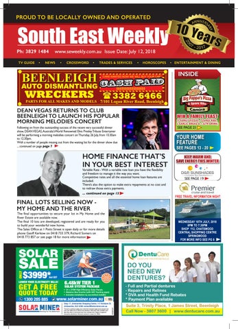 South East Weekly Magazine, July 12, 2018 by South East Weekly