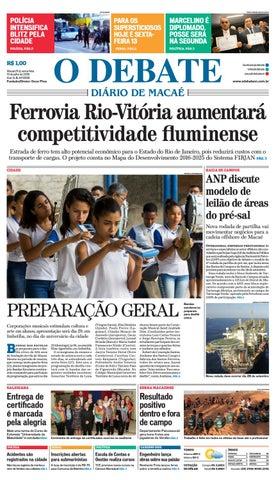 Edição 9596 13-07-2018 by O DEBATE Diario de Macae - issuu f68a7a483d