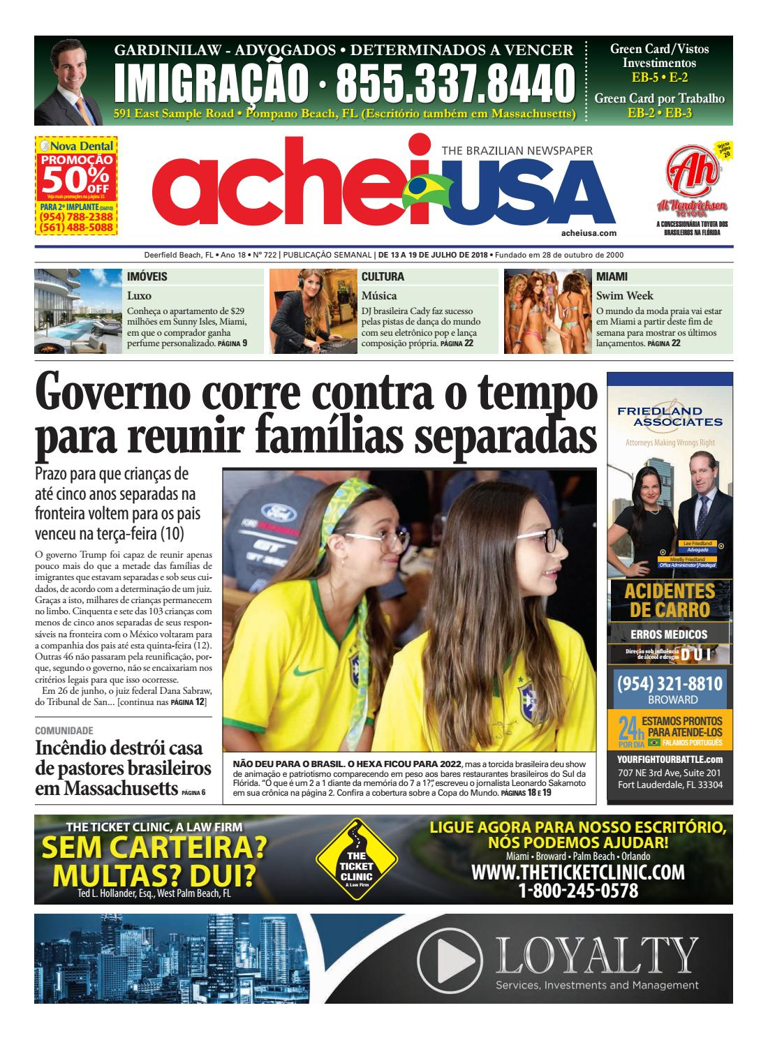 c5b3ce54f64 AcheiUSA 722 by AcheiUSA Newspaper - issuu