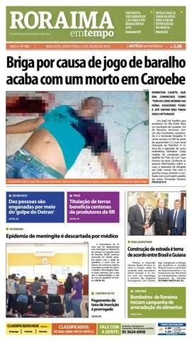e1e42ac565ae Jornal Roraima em tempo – edição 980 by RoraimaEmTempo - issuu